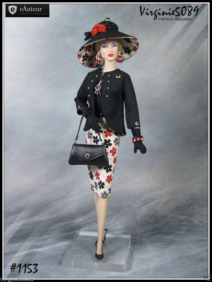Tenue Outfit Accessoires Pour Barbie Silkstone Vintage Fashion Royalty 1153 | eBay