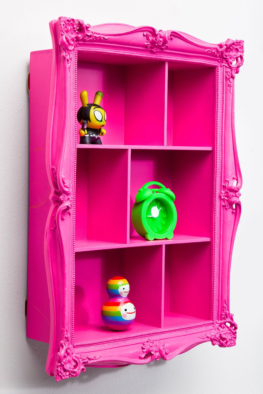 Baroque Wall Shelf In Pink At Urban Outfitters Pink Shelves