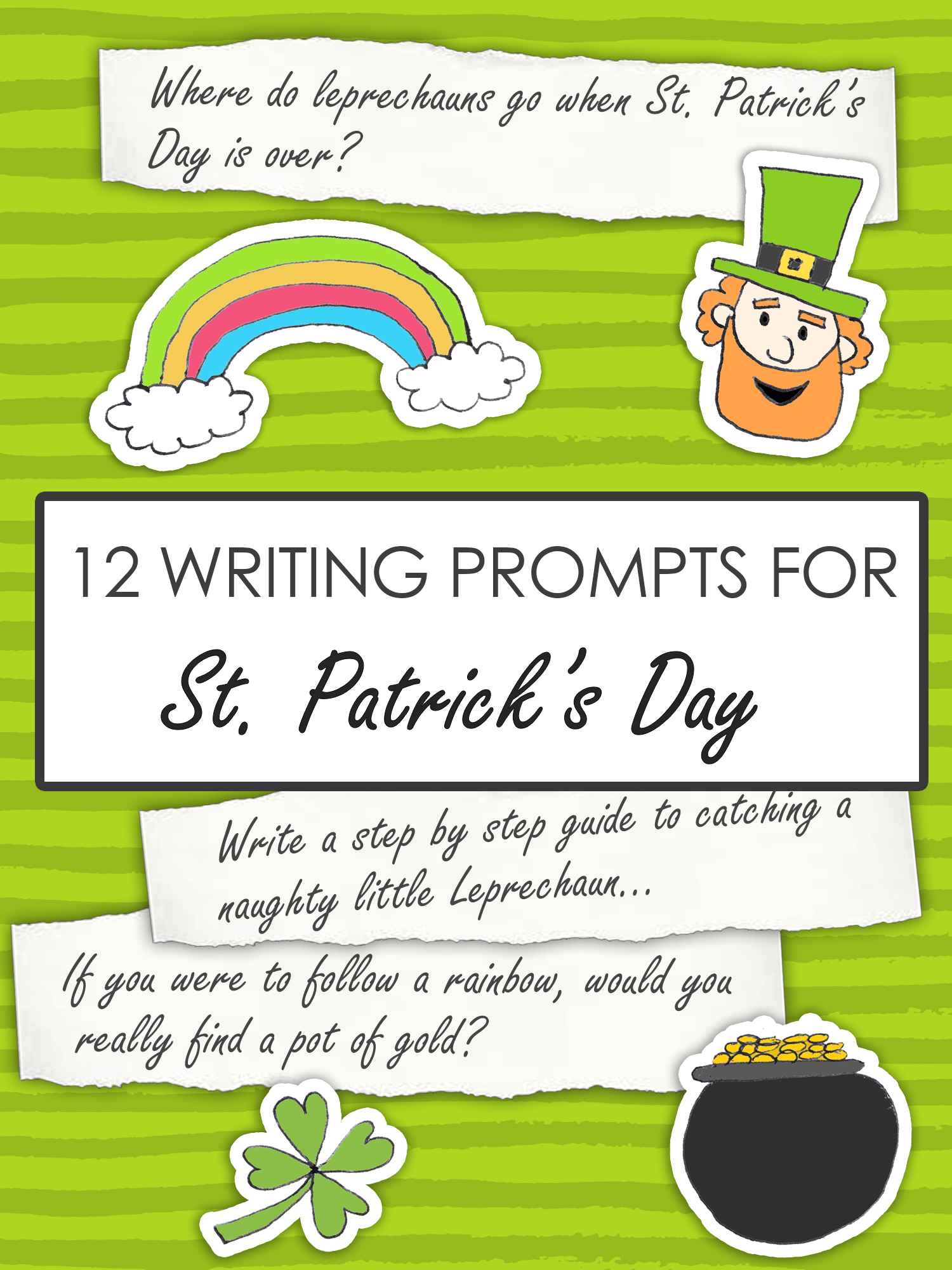 12 St Patrick S Day Writing Prompts For Kids