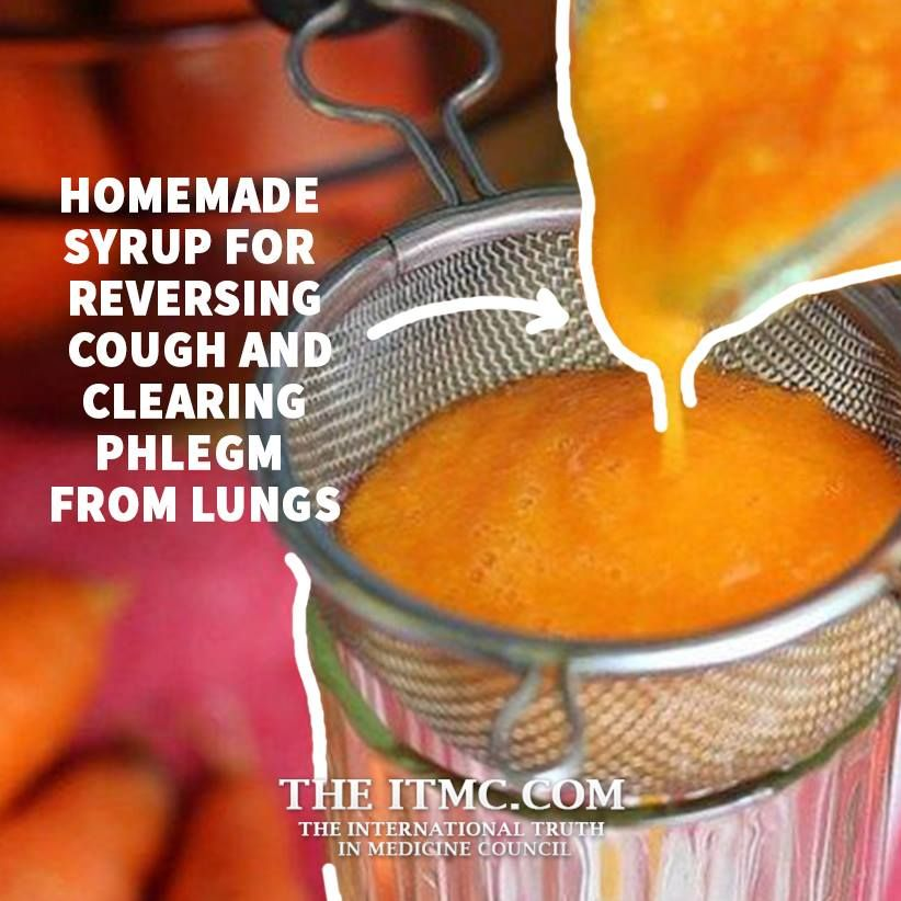 Homemade Syrup For Reversing Cough And Clearing Phlegm
