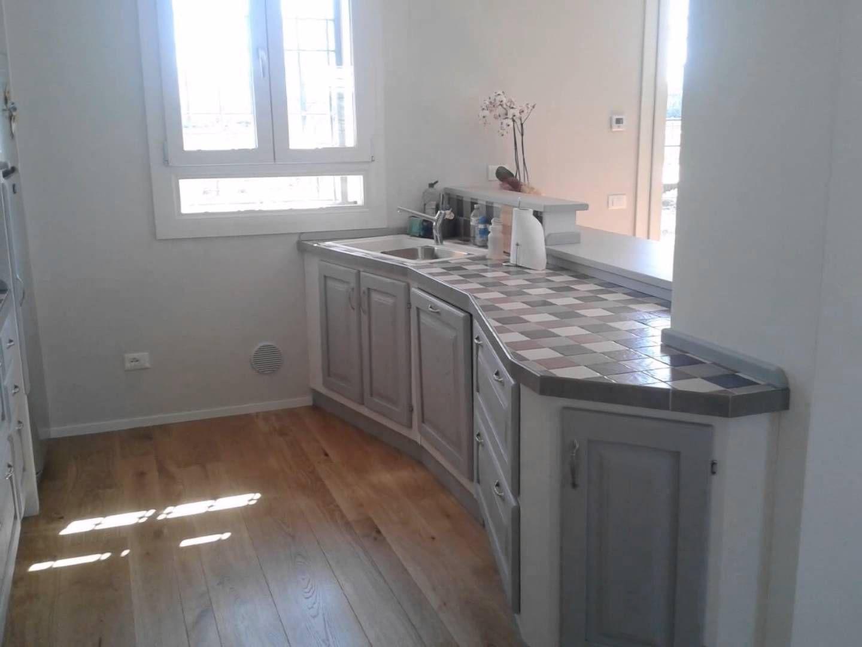 Una cucina in finta muratura bucatarie - Cucina finta muratura ikea ...