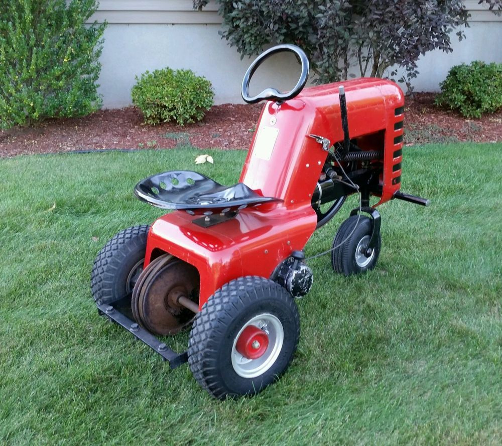 Old Craftsman Lawn Mowers : My sears garden tractor loader project is fully functional