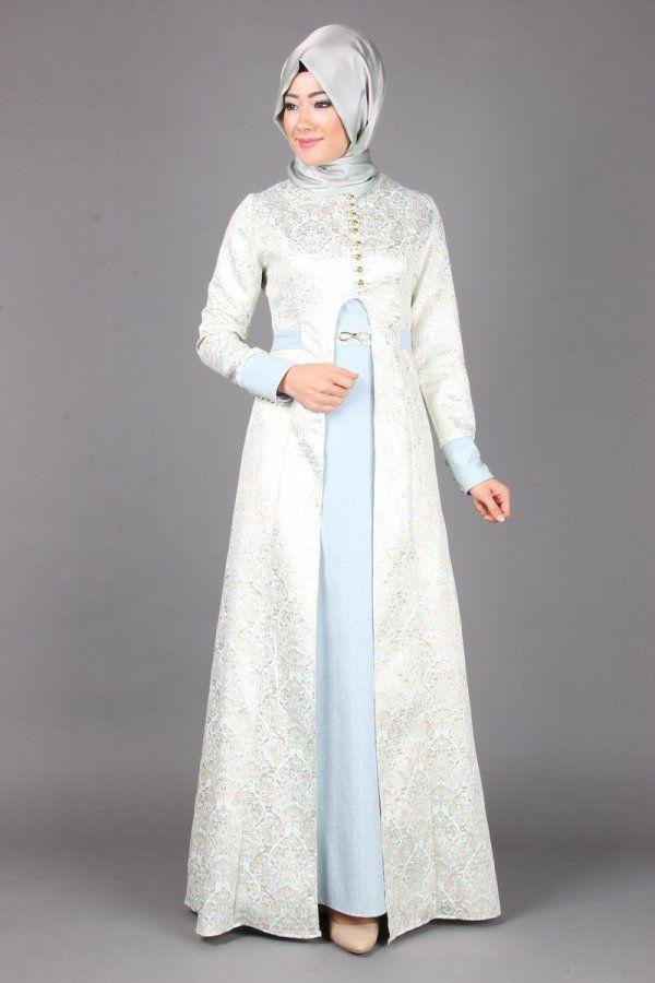 Damask Desen Sim Jakarli Abiye 7120 Www Modaselvim Com Pakaian Wanita Pakaian Pesta Model Pakaian Wanita