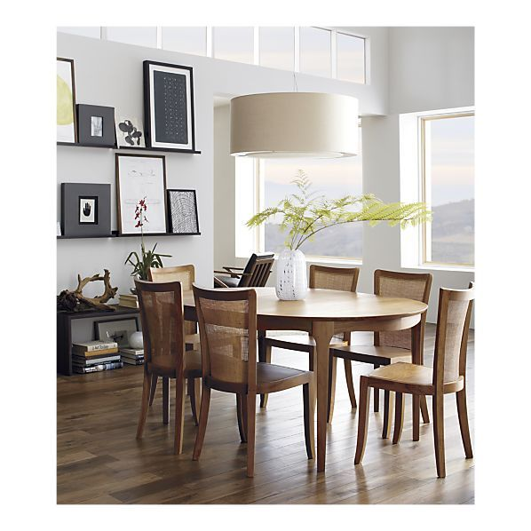 Crate Barrel Calista Extension Dining Table Danish Design So Elegant Dropinandwin Dining Table In Kitchen Dining Room Table Home Decor