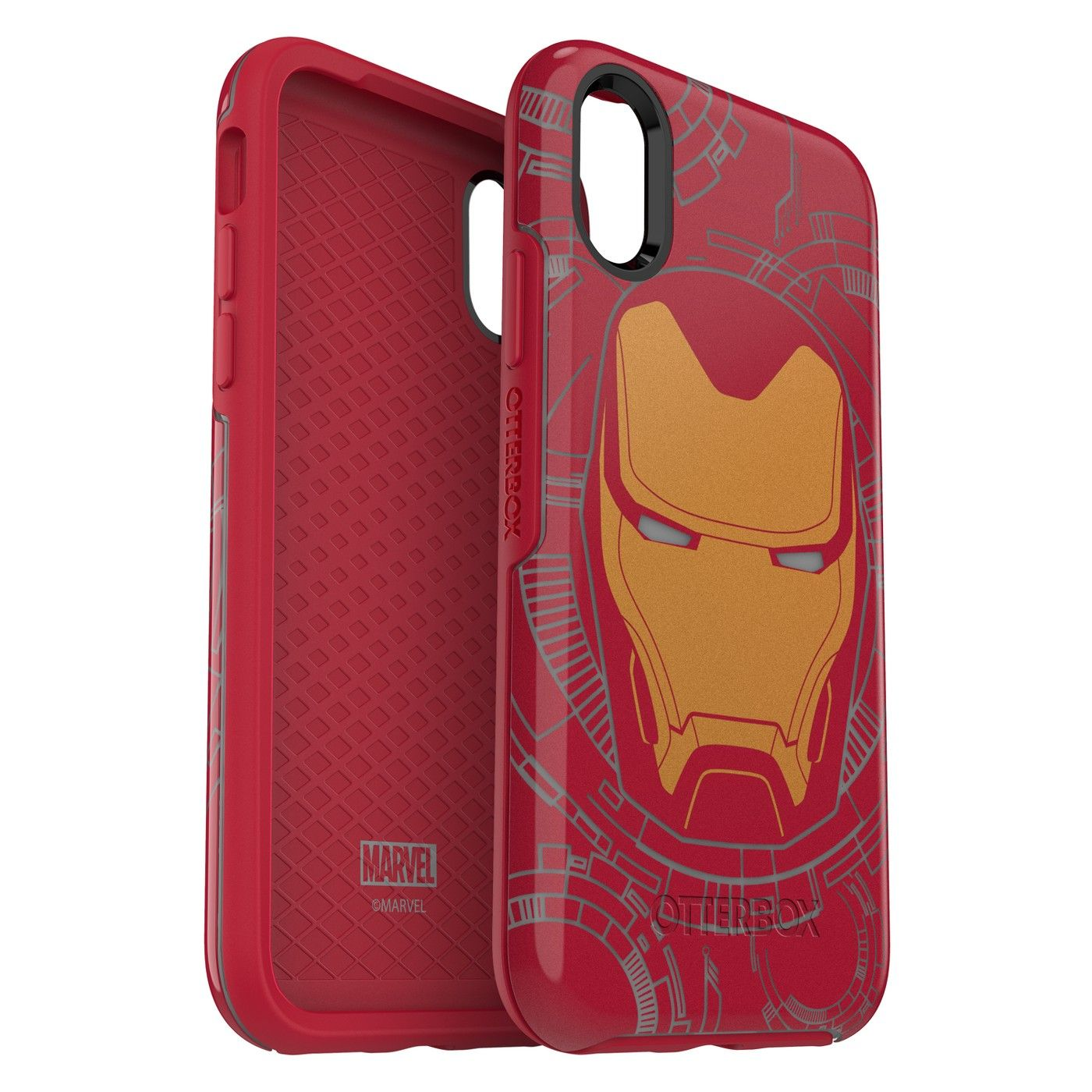 detailed look 4d6f1 27e72 OtterBox Apple iPhone X Case Symmetry Marvel - Iron Man #iPhone ...