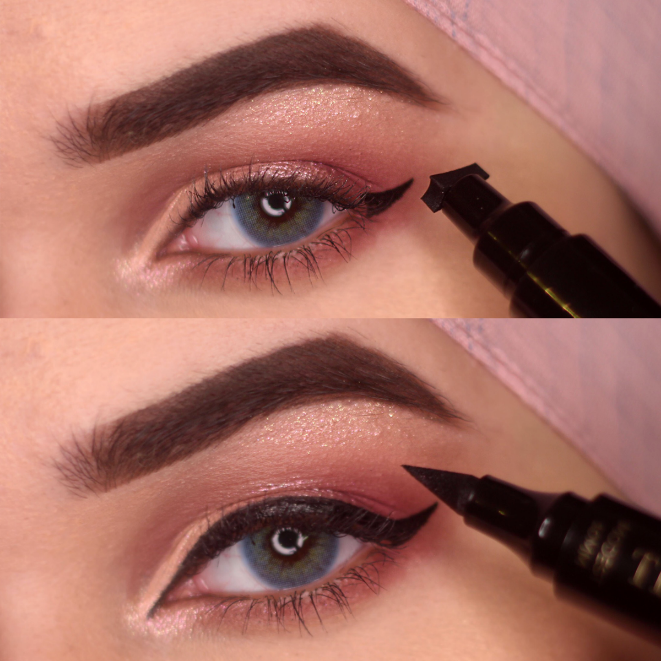 The Quick Flick Eyeliner | Winged eyeliner, Eyeliner, Eyeliner pen
