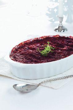 Punajuuri-ohravuoka   K-ruoka #joulu