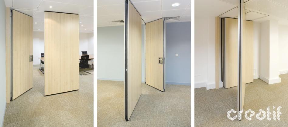 Solo Acoustic Operable Moving Walls Creatif Red Door