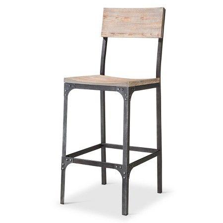 Magnificent Franklin 29 Barstool Steel Natural Threshold Fairview Machost Co Dining Chair Design Ideas Machostcouk