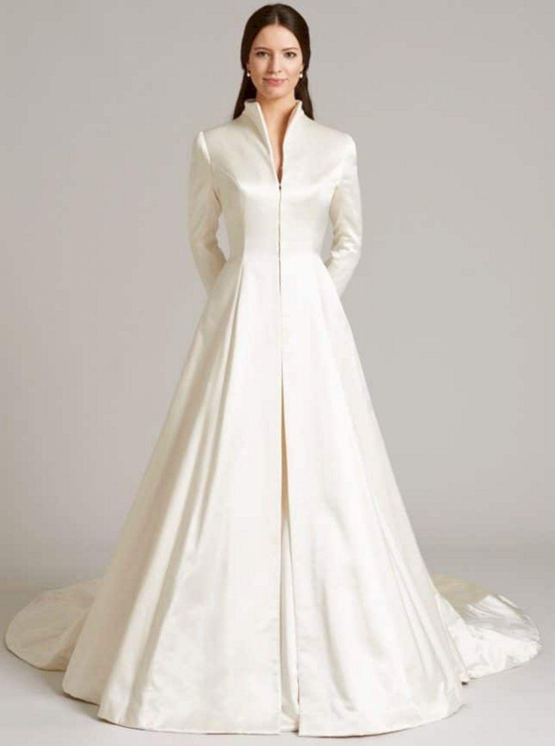 Wedding Bridal Coat For Winter Oosile Coat Dress In 2019