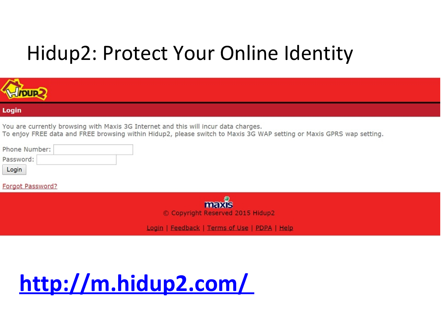 Only Hidup2 Allows Users To Be Totally Anonymous From The Sites They Visit Even In Incognito Mode Incognito Mode With Images Browsing History 3g Internet Web Address