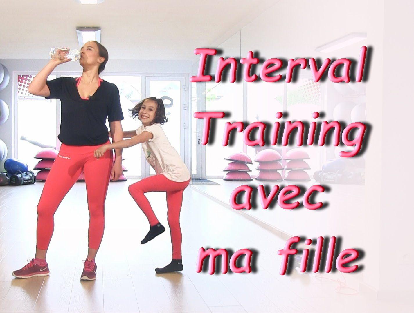 Interval Training avec ma fille Mini short, Fille et Muscle