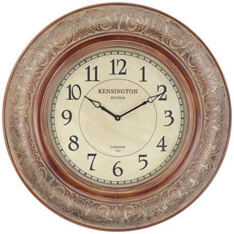 Cooper Classics Mackenzie 38 Wide Wall Clock Oversized Wall Clock Wall Clock Clock