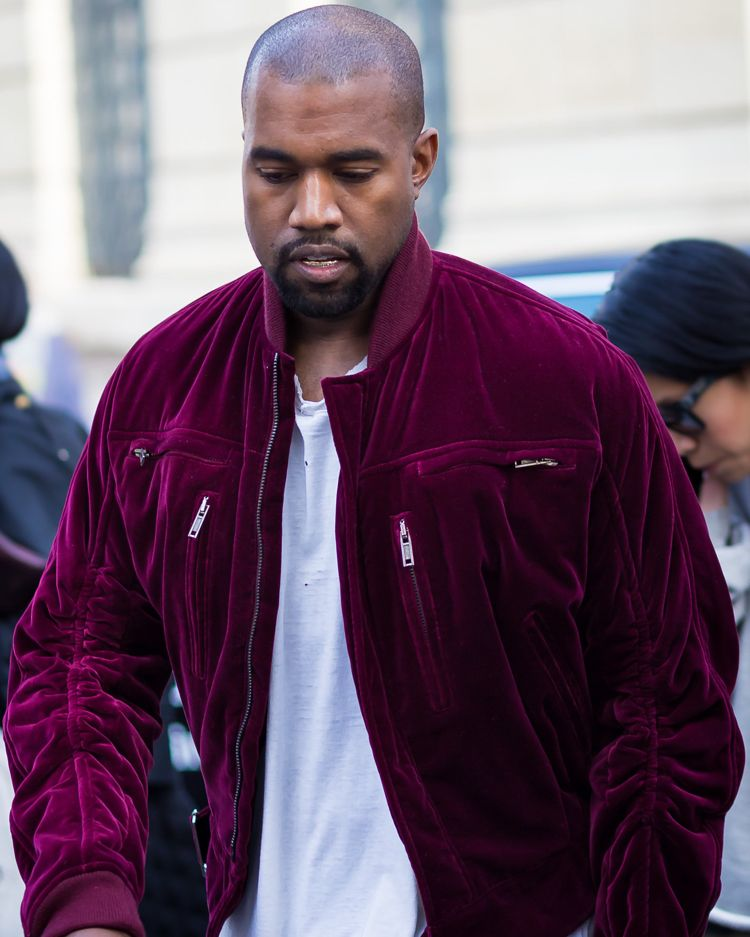 Mode Trend Samt Manner Bomber Jacke Rot Kanye West Mode Trends Streetstyles