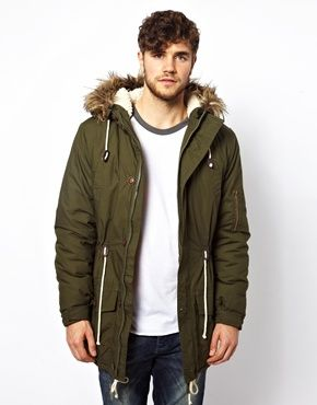 New Look Parka Jacket | Coats and Jackets | Pinterest