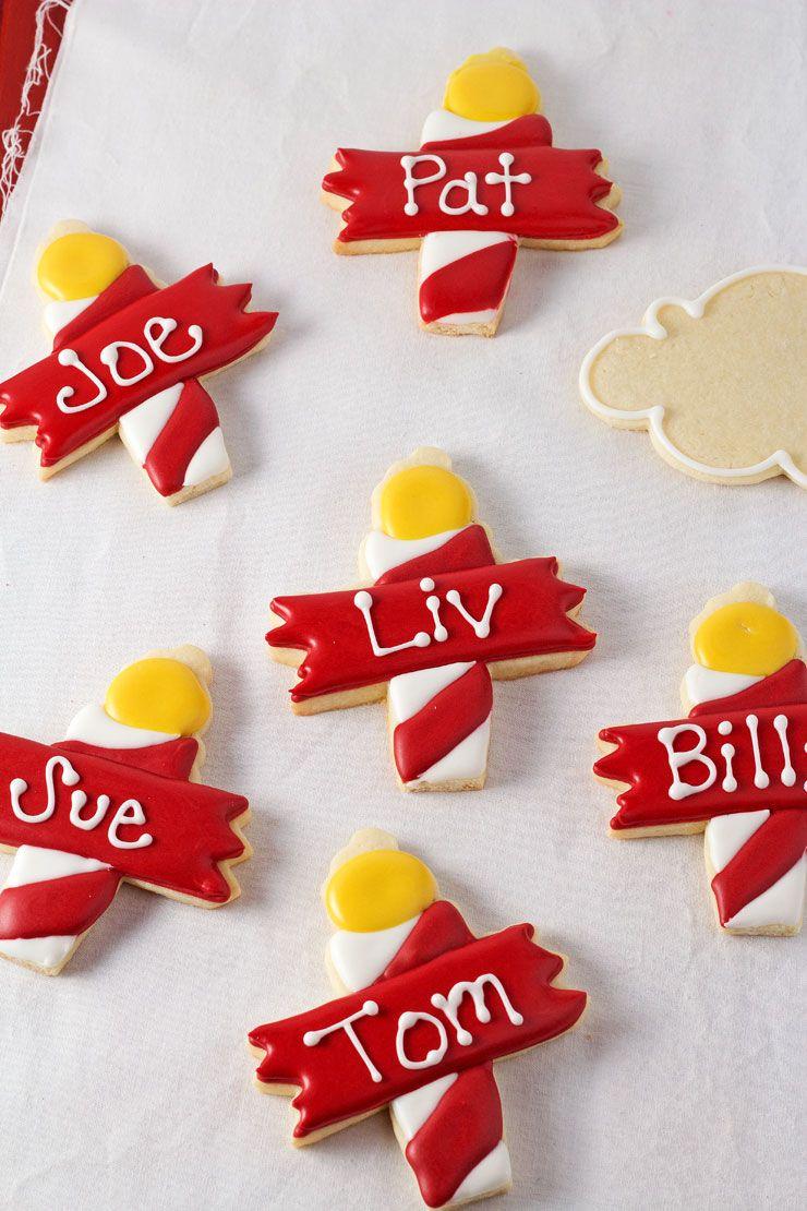 North Pole Cookies Name Tags For Christmas Christmas Cookies