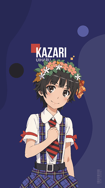 Kazari Uiharu Toaru Kagaku No Railgun Wallpaper Anime
