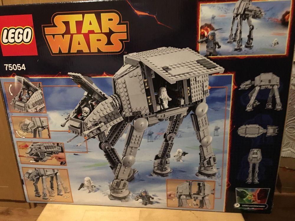 Lego Star Wars 75054 AT AT Walker FACTORY SEALED | eBay