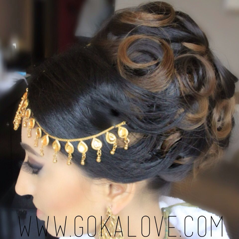 Indian Loose Hair Wedding Hairstyles: Big Hairstyles For Your Wedding Day! Indian Wedding