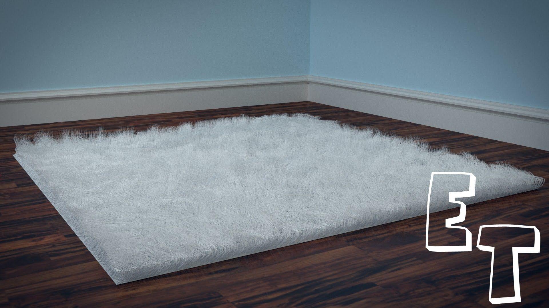 How To Make A Fluffy Carpet In Blender Blender Tutorial Blender Blender 3d