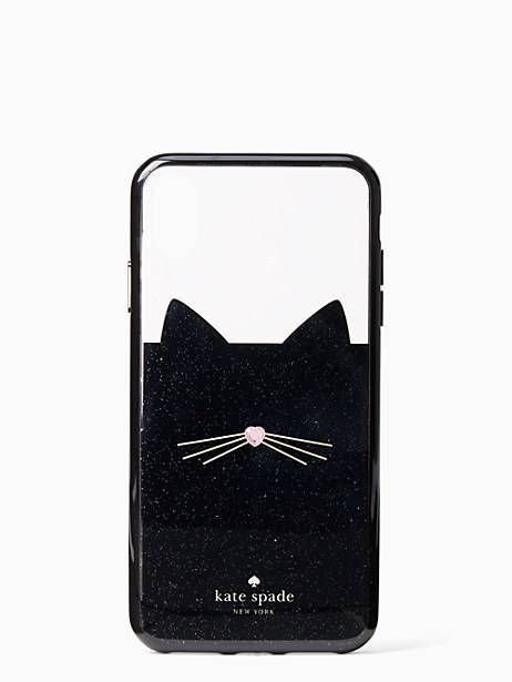 quality design ee2e9 9e346 Kate Spade Jeweled Glitter Cat Iphone Xs Max Case | Products in 2019 ...