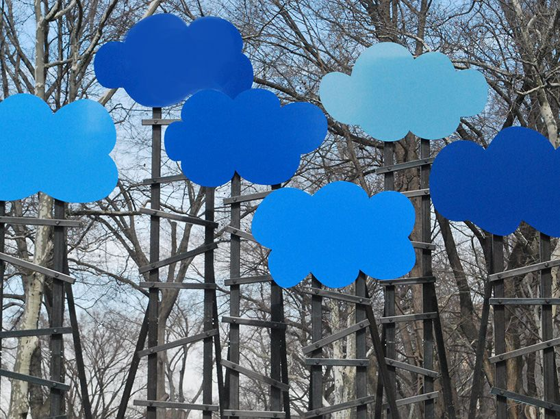 olaf breuning places clouds above the central park sky