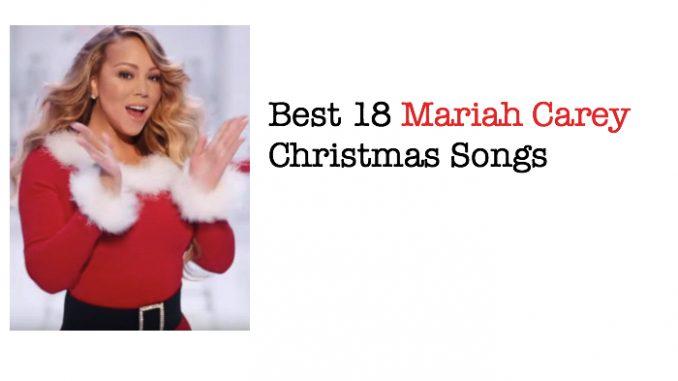 Best 18 Mariah Carey Christmas Songs In 2021 Mariah Carey Christmas Song Mariah Carey Christmas Album Christmas Song