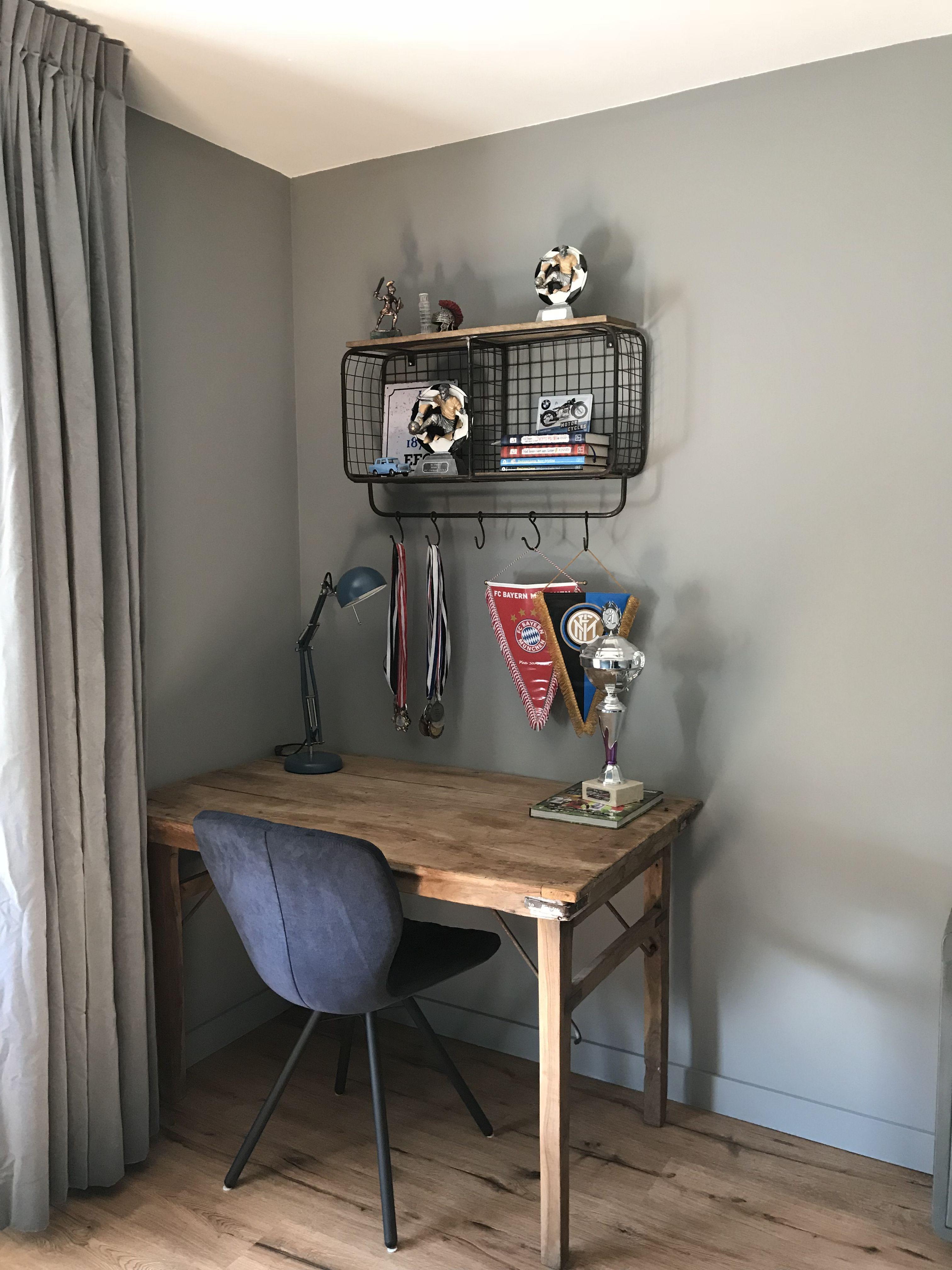 Vintage Teenroom Wall Pure Original White Rhino Thuisbijwendoosje Interieur Muur Kleuren Muurkleuren