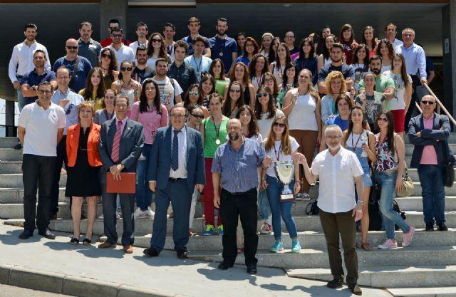 La Facultad de Educación gana el Trofeo Rector de la Universidad de Murcia, Foto 1