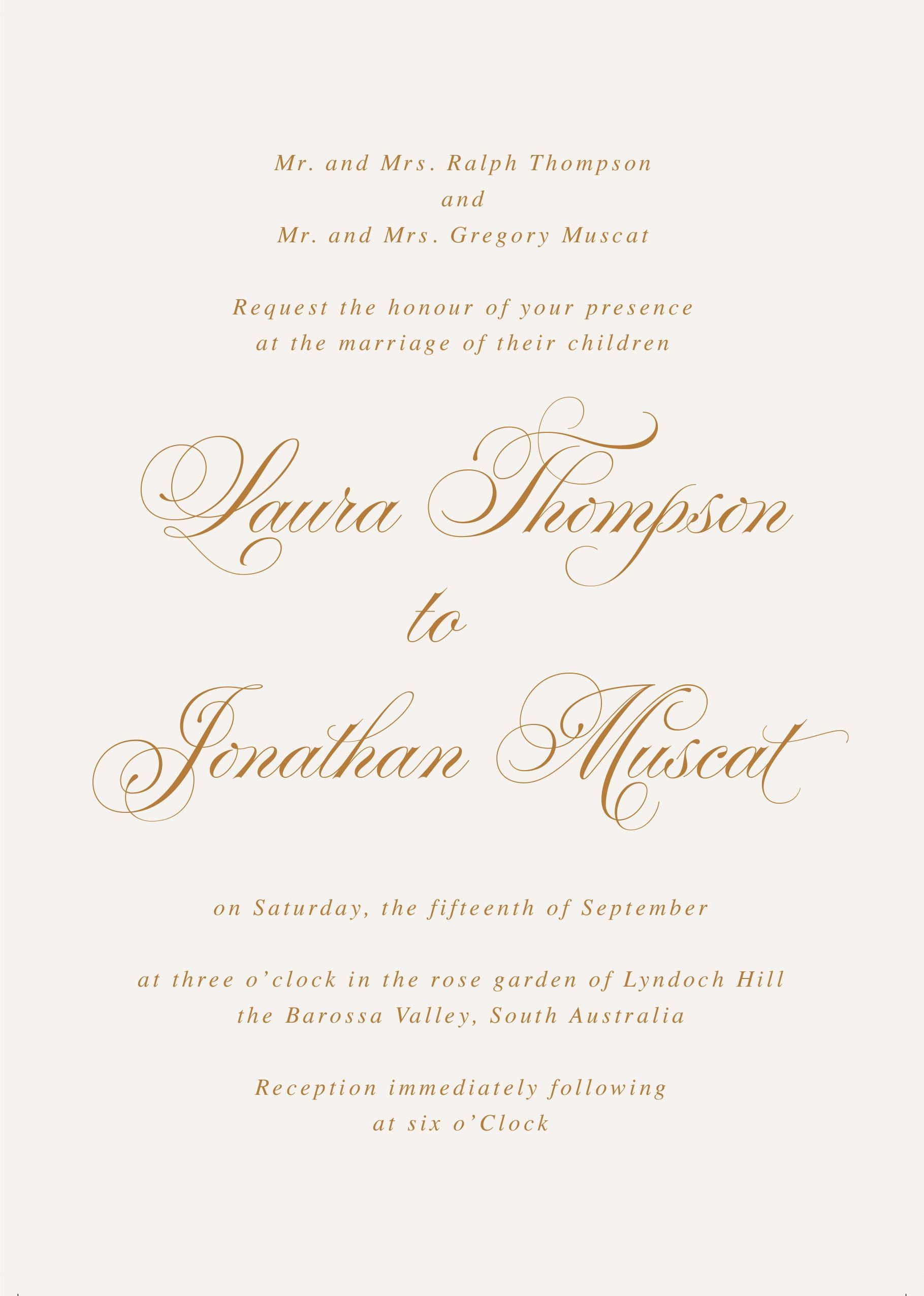 Wedding Invitation Wording Samples Reception Immediate In 2020 Traditional Wedding Invitation Wording Traditional Wedding Invitations Wedding Invitation Wording Formal