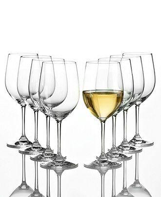 Riedel Wine Glasses, Vinum Chablis Pay 6 Get 8 Set - Stemware & Cocktail - Dining & Entertaining - Macy's