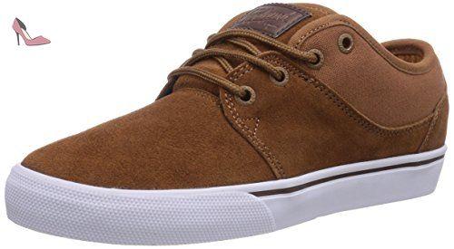 Globe Mahalo, Chaussures de skateboard homme, Braun (Toffee), 42 EU (