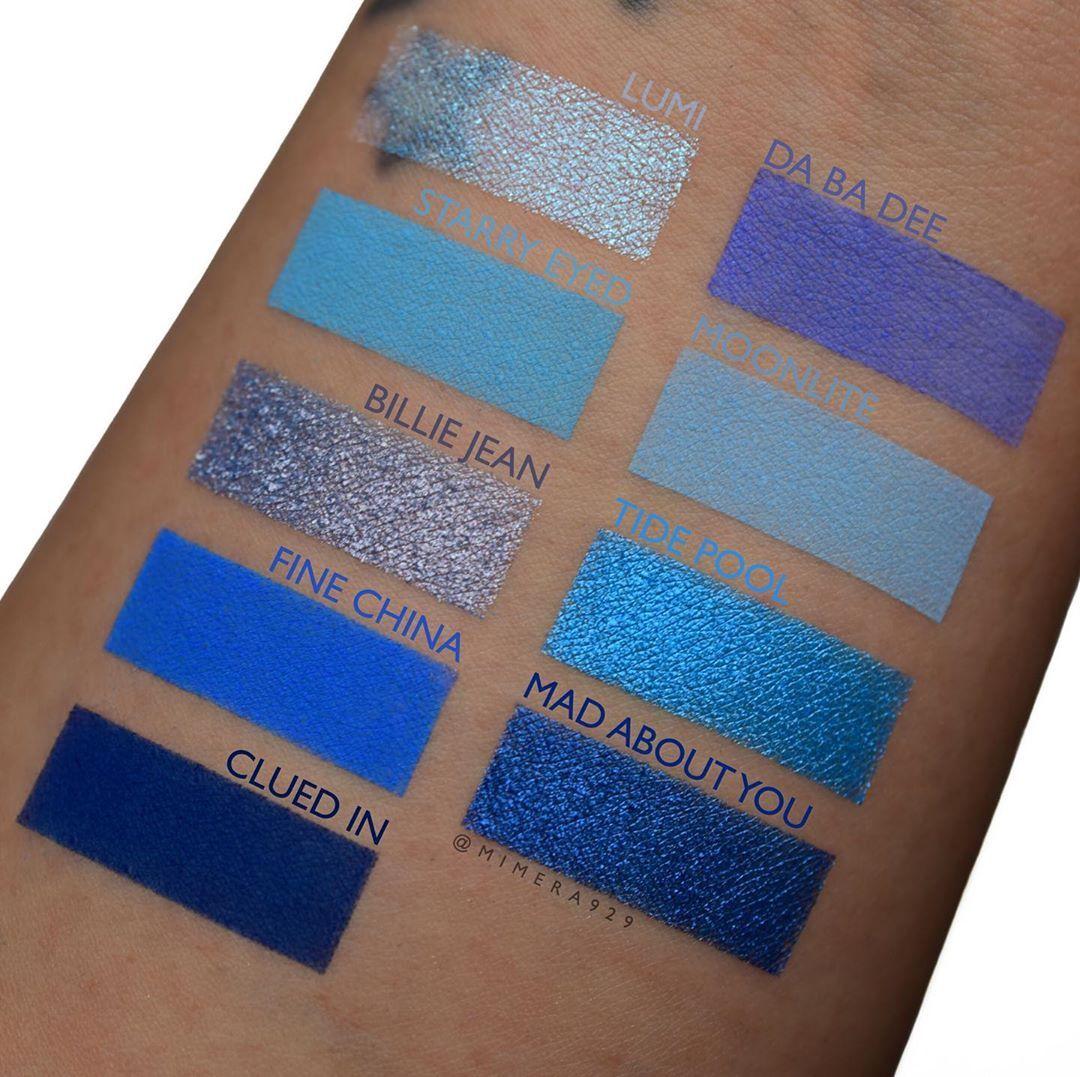 Blue Moon Eyeshadow Palette  by Colourpop #4