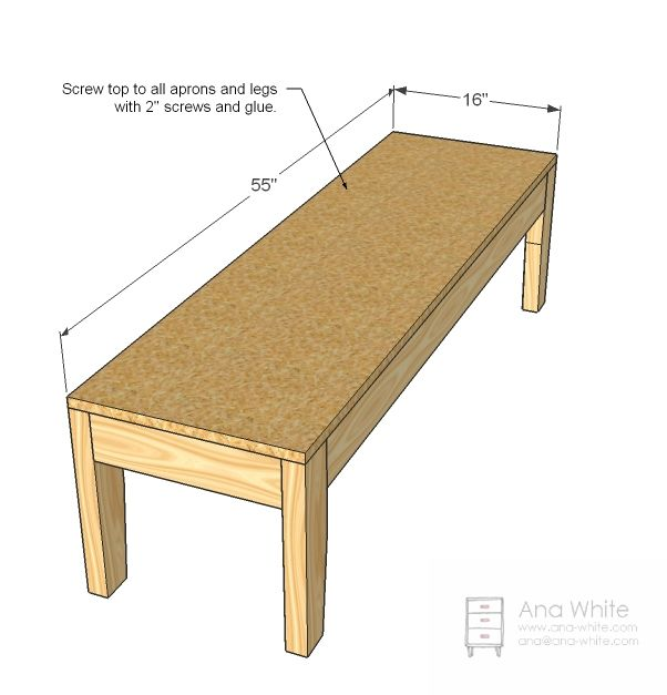 Build A Easiest Upholstered Bench
