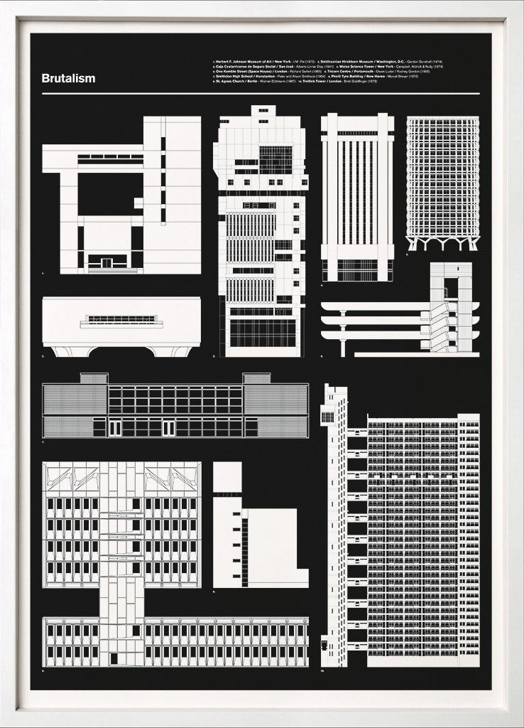 New print launched today brutalism 67 inc the fourth in our brutalism print blueprint 67 inc architecture 67 inc malvernweather Choice Image
