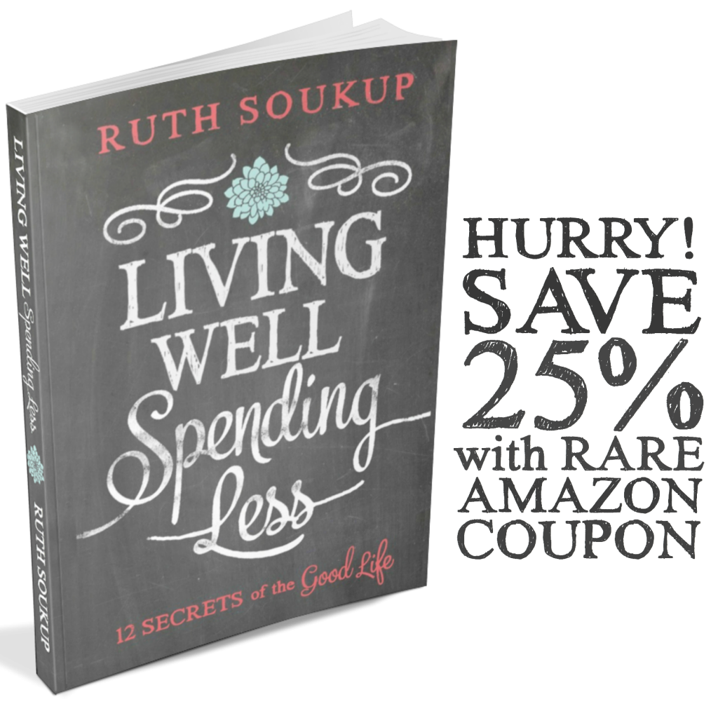 Amazon Book Coupon Living Well Spending Less Amazon Books Books Budgeting Worksheets