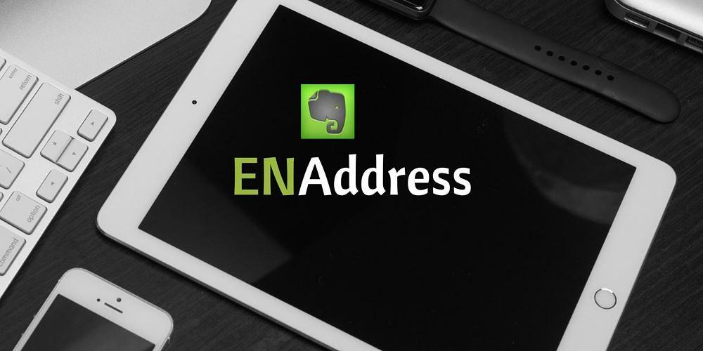 ENAddress est un service qui décuple les possibilités offertes par Evernote d'enregistrer des notes simplement en envoyant un email à une adresse dédiée.