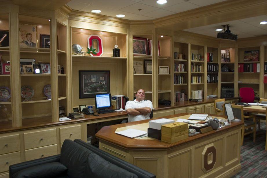 Osu football head coachs office all things ohio state
