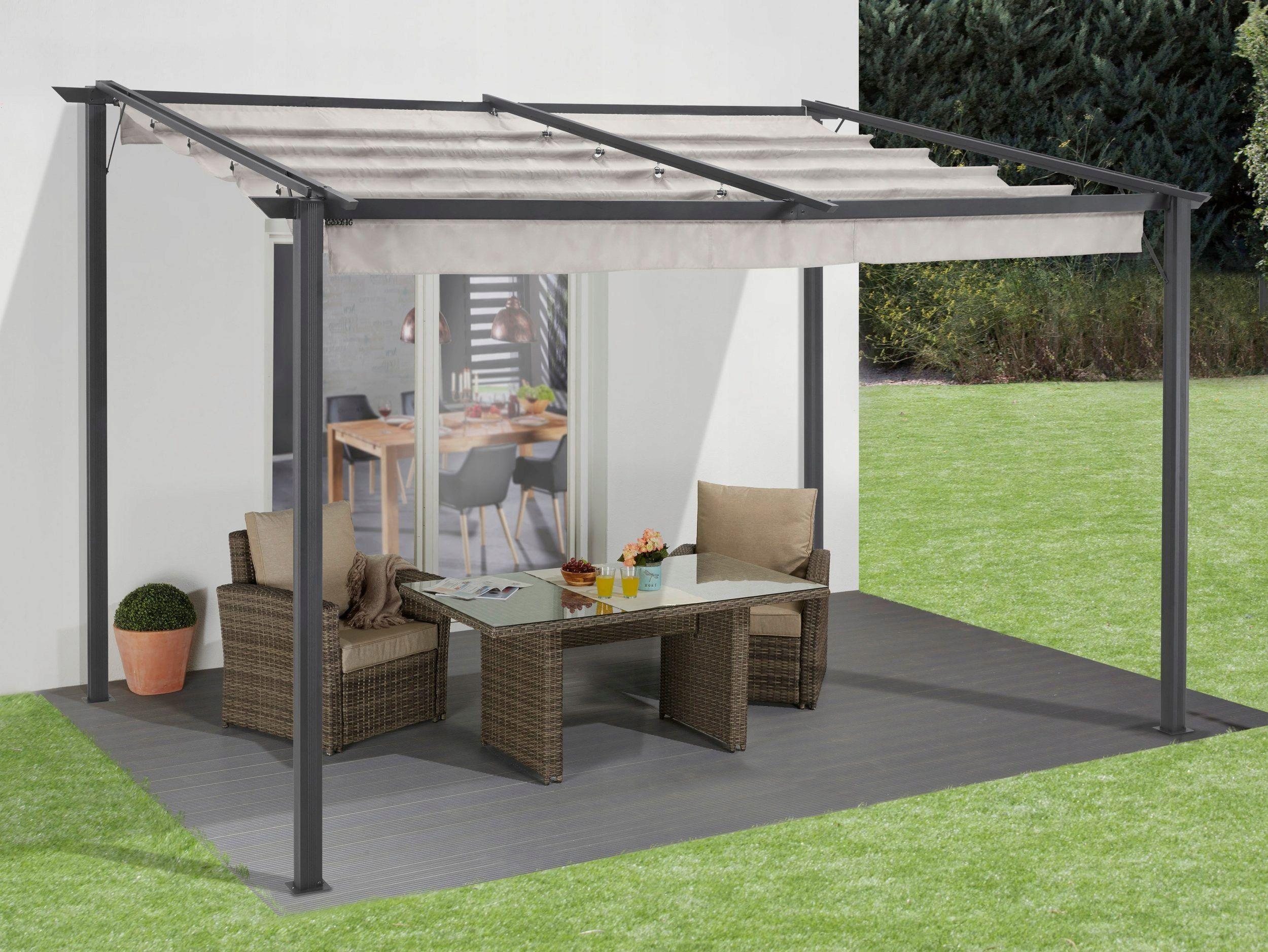 Nowoczesny Pawilon Ogrodowy 3x4 Pergola Raffdach 8428061976 Allegro Pl Outdoor Decor Backyard Gazebo Gazebo Canopy