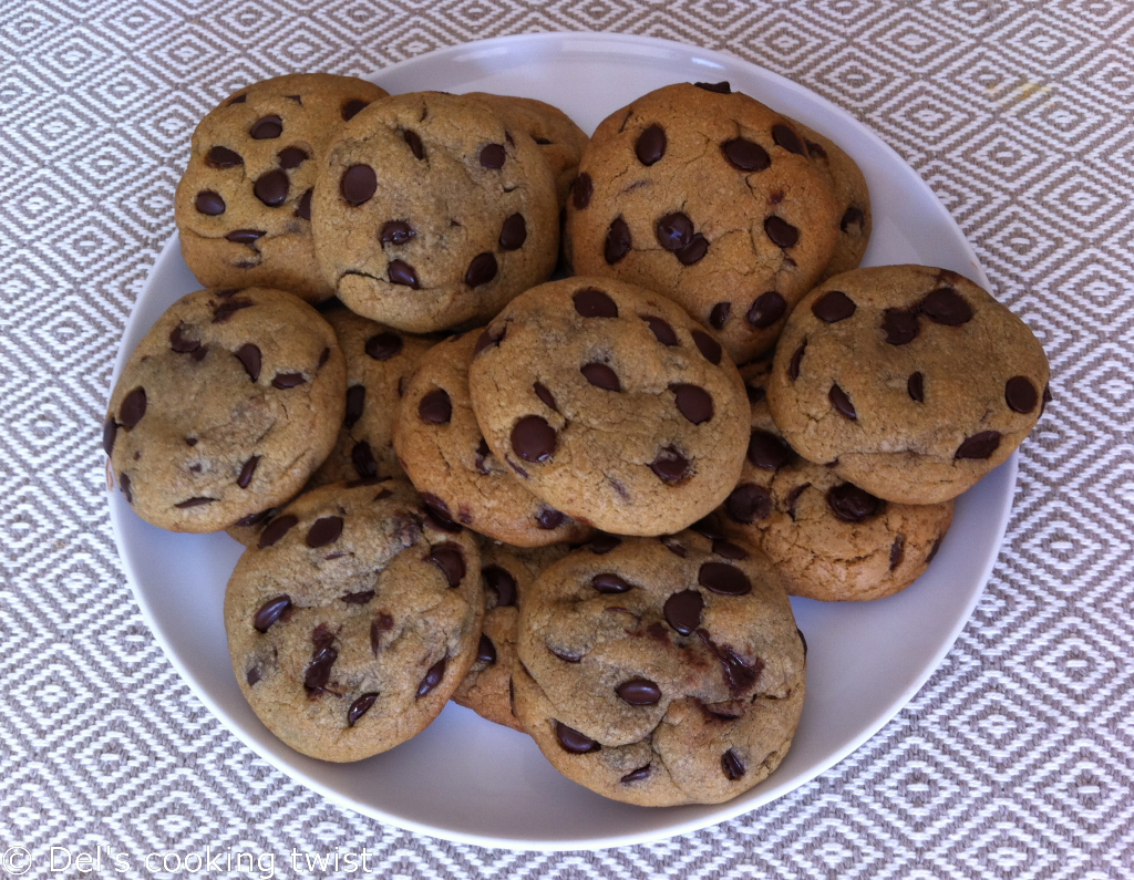 Super Soft American Chocolate Chip Cookies Del S Cooking Twist Recipe American Chocolate Chip Cookies Chocolate Chip Chocolate Chip Cookies