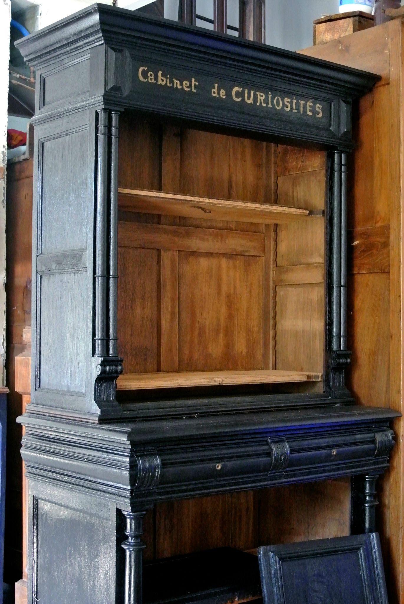 Cabinet De Curiosite Barbatrucetrecup Ideas Pinterest  # Realiser Meuble Buffet Bibliotheque