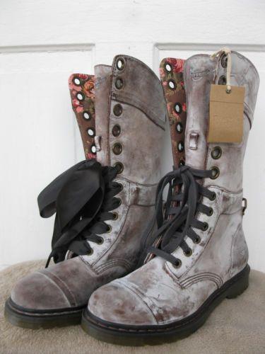 Dr Martens Brown Massai Triumph 1914 12 Eye Boots  5f88afde7ab3
