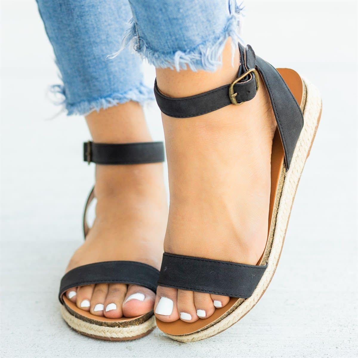 a2ec33250f8 holilychic Women s Shoes Casual Open Toe Platform Adjustable Buckle Orange  Women s Shoes – Holilychic