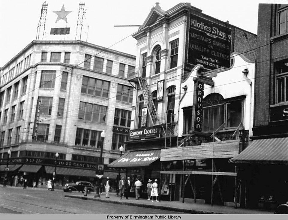 Newberry's Birmingham 2nd ave. n. 1939 Magic city