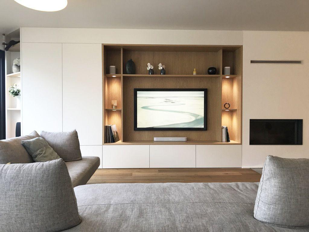 Meuble TV sur-mesure  Idée déco meuble tv, Meuble salon design