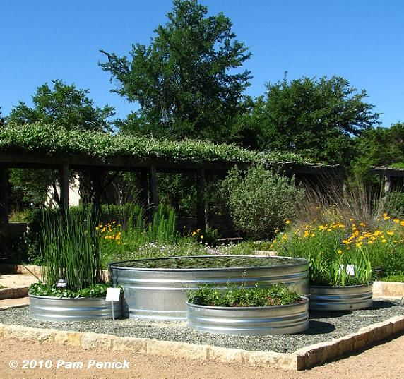 how to build a water tank for the garden