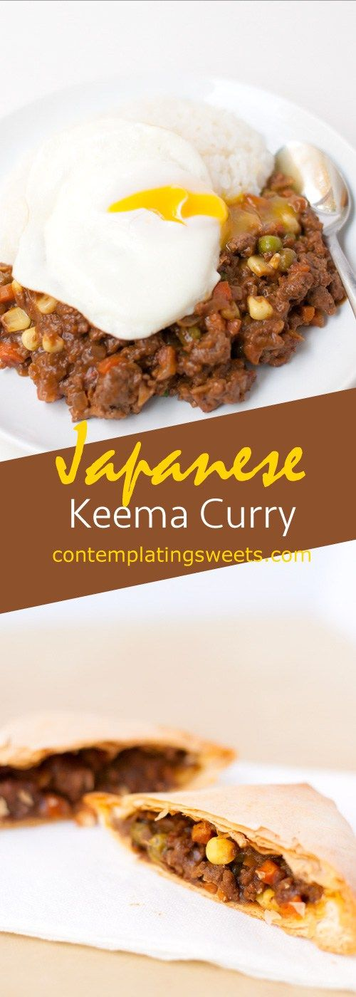 Japanese Keema Curry Ground Beef Curry Ground Beef Beef Curry Recipe Food