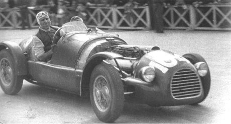 1948 Mille Miglia Ferrari 166SC driver- Tazio Nuvolari-Andrea Scapinelli