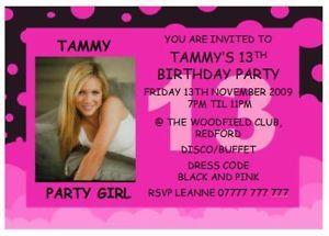 13th Birthday Photo Shoot Ideas Thirteenth Birthday Party Ideas On Pink Black 16th 13th Birthda 13th Birthday Parties 13th Birthday 13th Birthday Invitations
