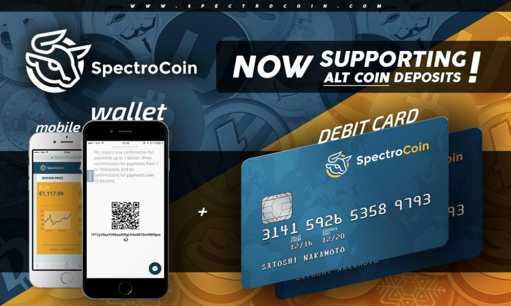 Use SpectroCoin Debit Card to Withdraw Bitcoin Bitcoin